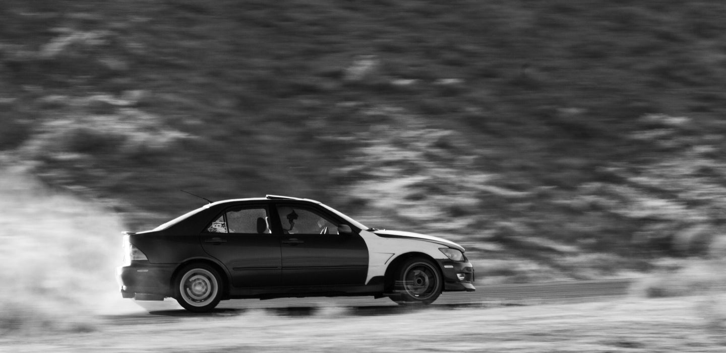 The Only Way This Drifting Lexus IS300 Could Be Better Is by Being a SportCross