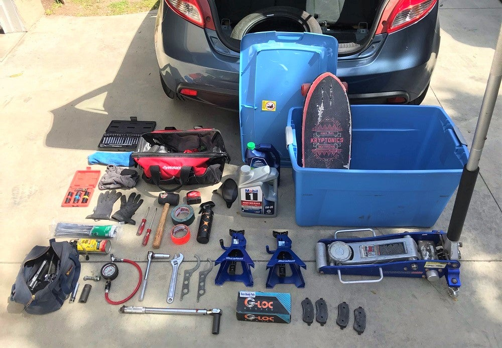 The Essential Track Day Checklist: Tools and Fluids