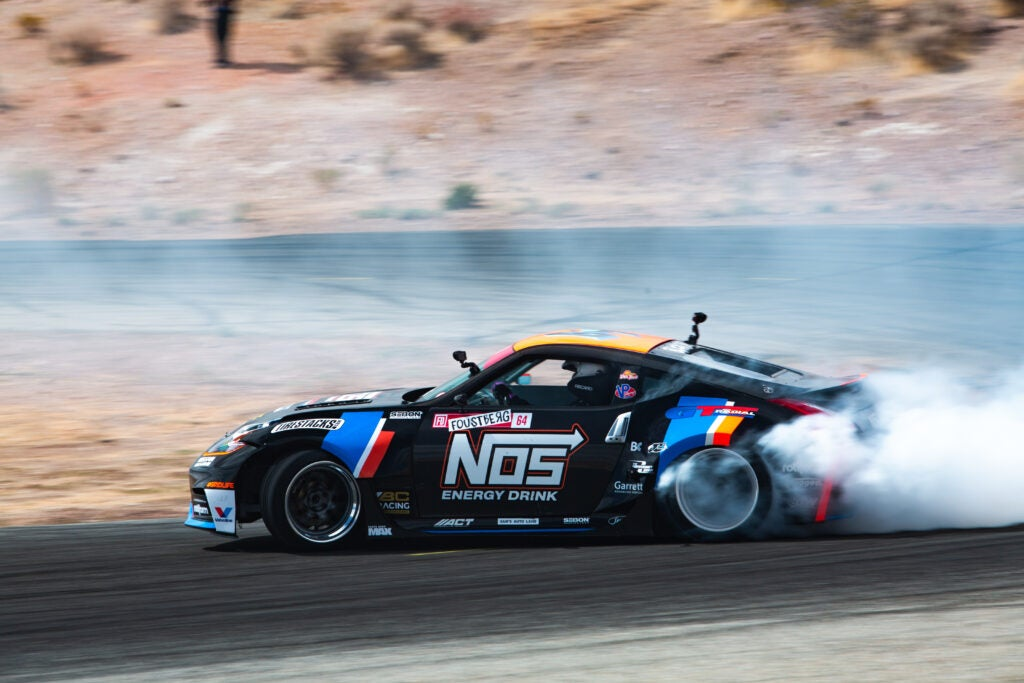A 370Z With Twin-Turbos Makes A Great Drift Machine