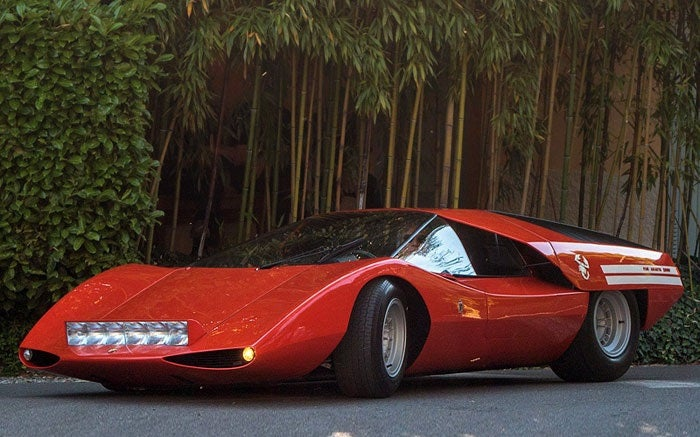 The Fiat Abarth 2000 Scorpio Is an Oddly Beautiful Concept That You Probably Haven't Heard Of