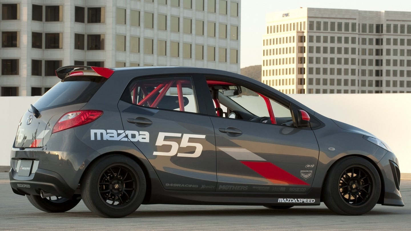 Even With Only 100 HP the Mazda2 Evil Track Was One of Mazda's Coolest Concepts Ever