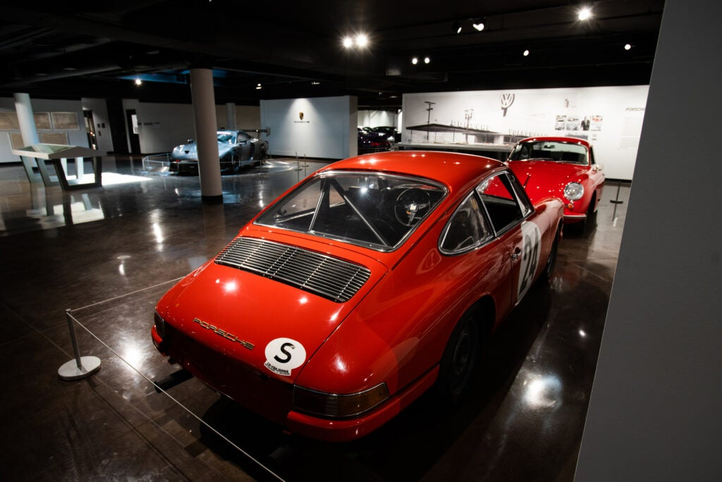 This Porsche 901 Is Lurking With More Great Cars in This Cool Dealership Museum