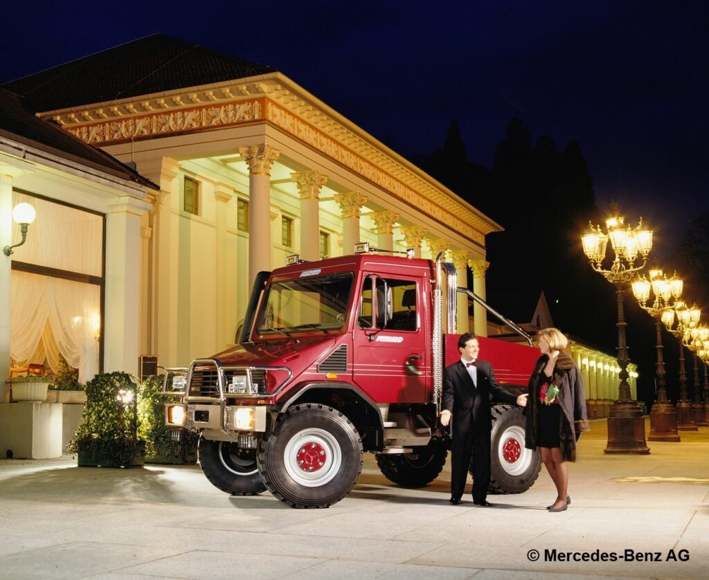 Mercedes Joked About a Luxury Unimog in 1994 but It'd Probably Print Money Today