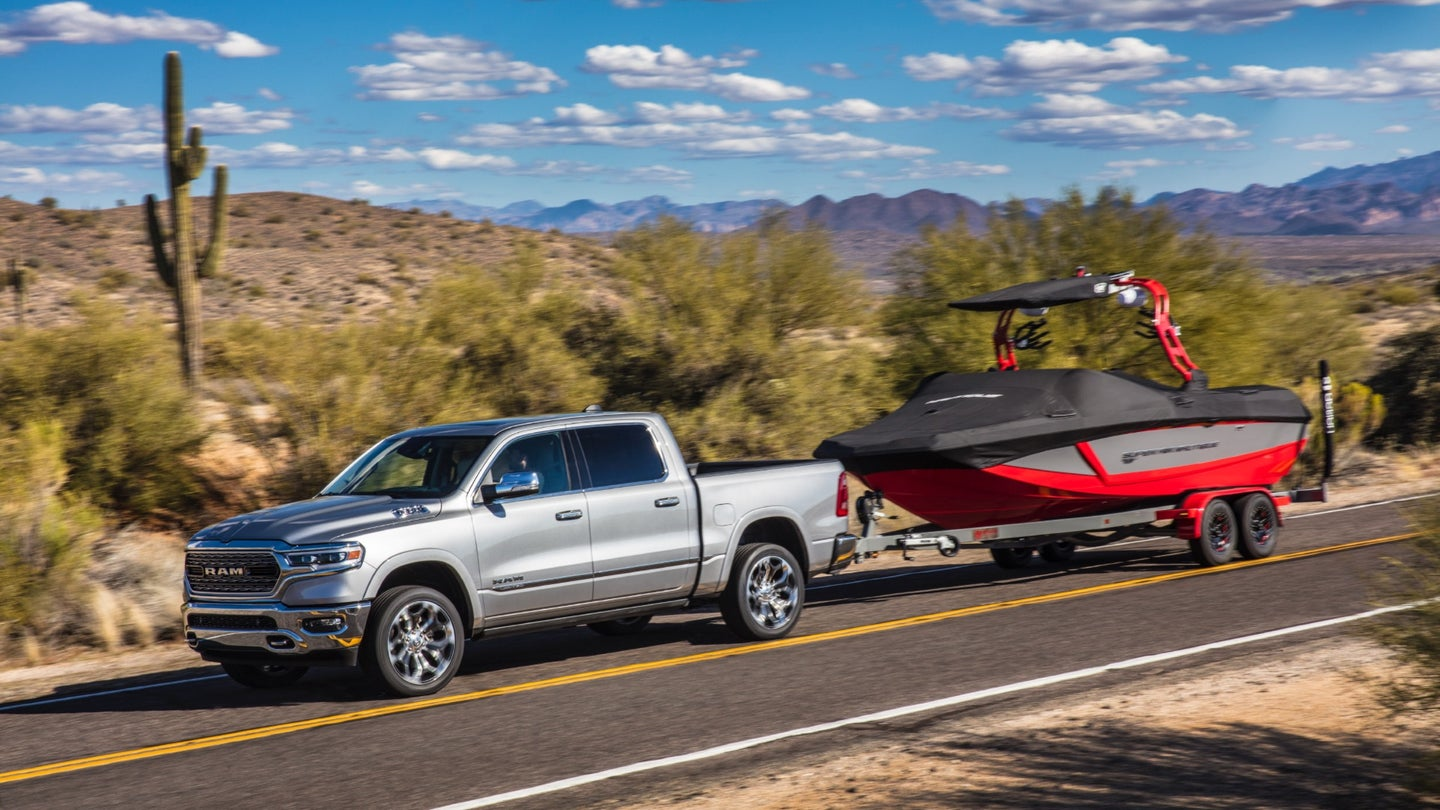Here's How To Tow a Boat
