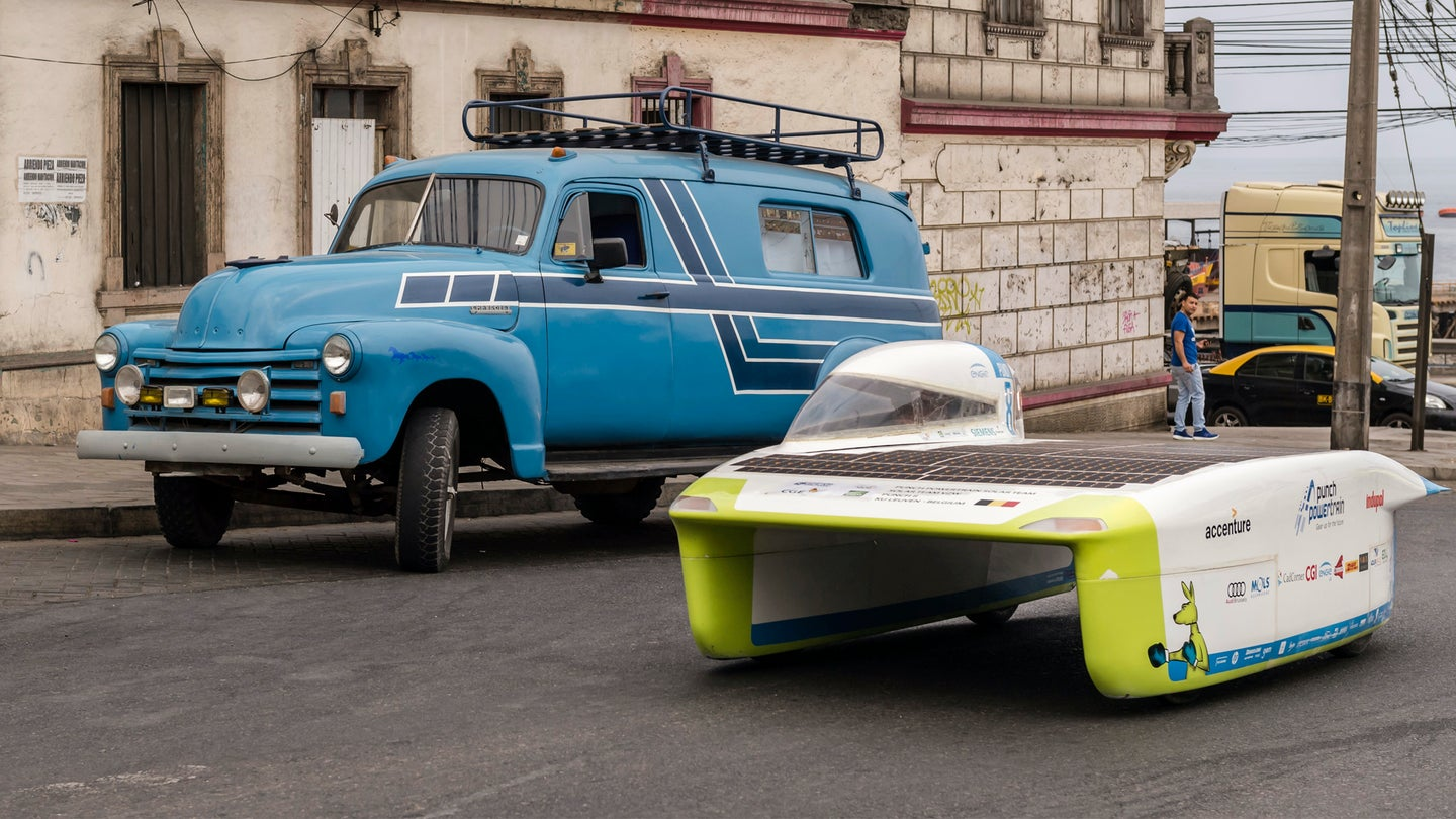 Old Solar Cars Still Look Too Futuristic To Be Real
