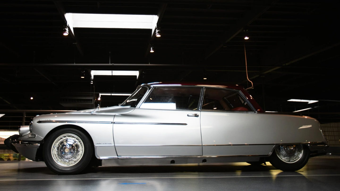 This Custom Citröen DS19 Is Almost Like a Two-Door Limo