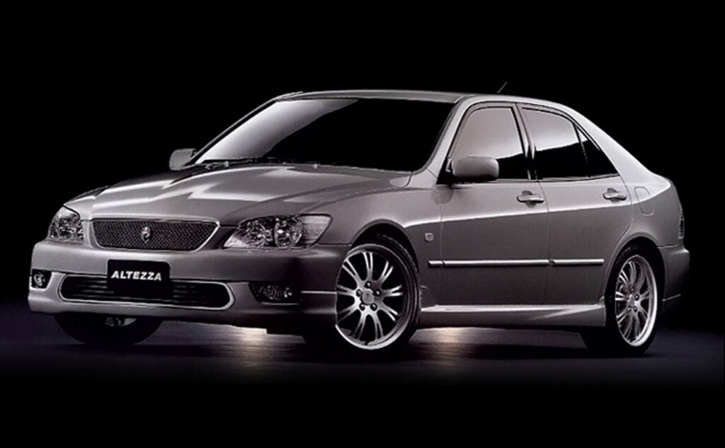 The Altezza RS200 Was the Toyota Sport Sedan We Deserved
