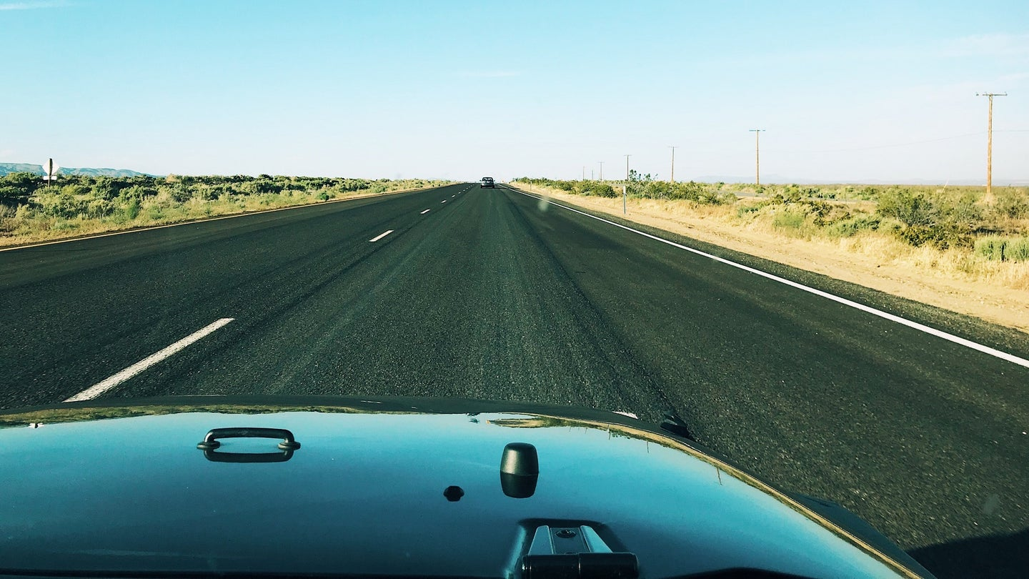 The Open Road is Always a Beautiful Sight