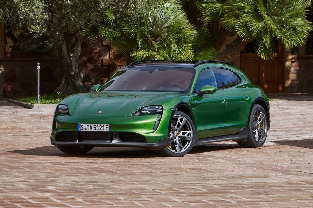 The New 2022 Porsche Taycan Cross Turismo: Top Takeaways From Expert Car Reviewers