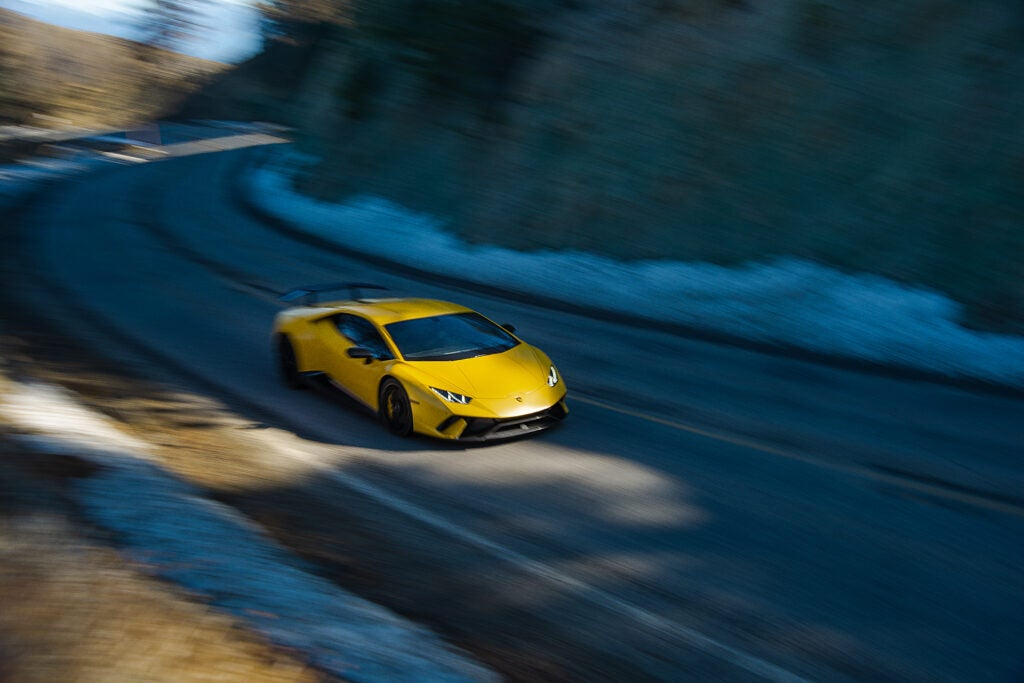 Are Yellow Lamborghinis Faster Than Any Other Color?