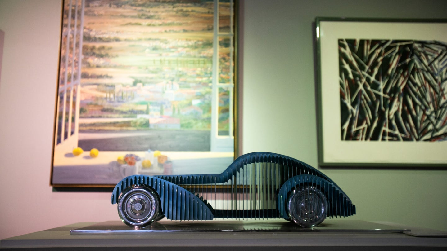 I Probably Couldn't Even Afford This Scale Model of a Bugatti Type 57SC Atlantic