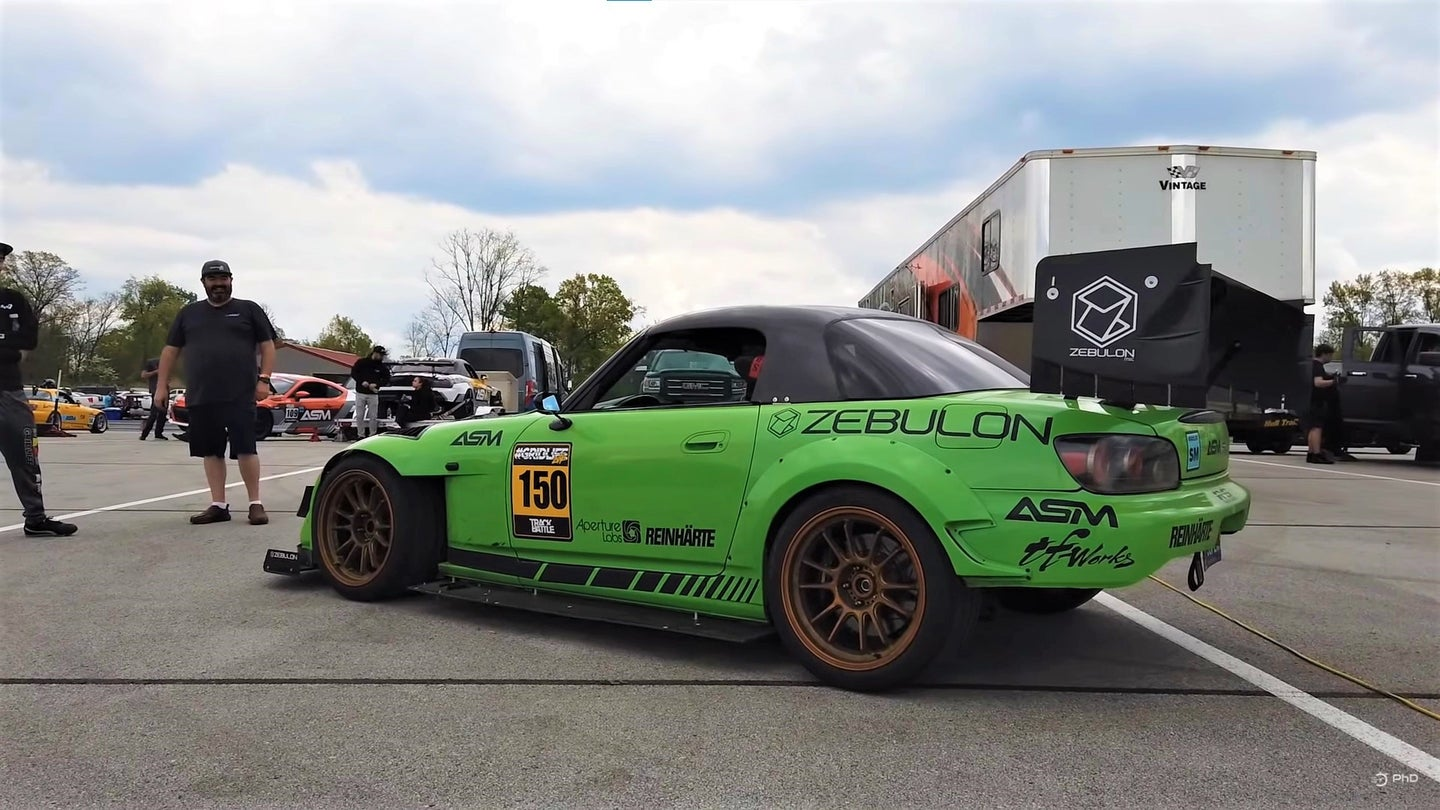 This Honda S2000 Is an Amazing Frankencar With a K-Series Engine and a BMW Transmission