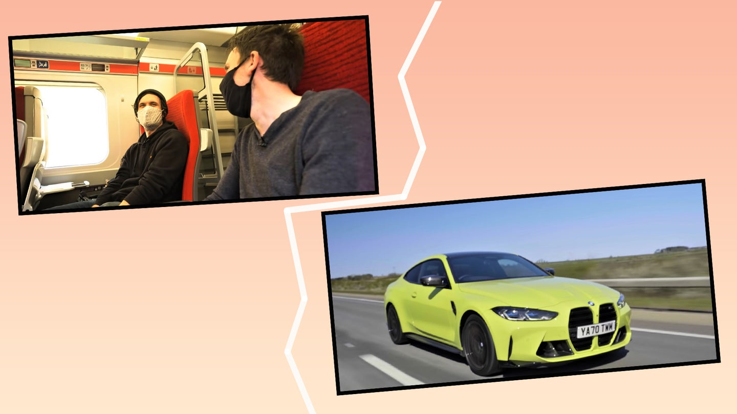 Car Throttle's 'Transit vs. Car Challenges' Have What You Miss About Classic Top Gear