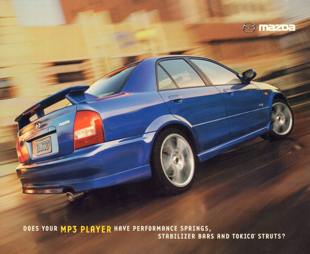 The Mazdaspeed Protege and Protege MP3 Were Great Cars of the Ford/Mazda Alliance Era