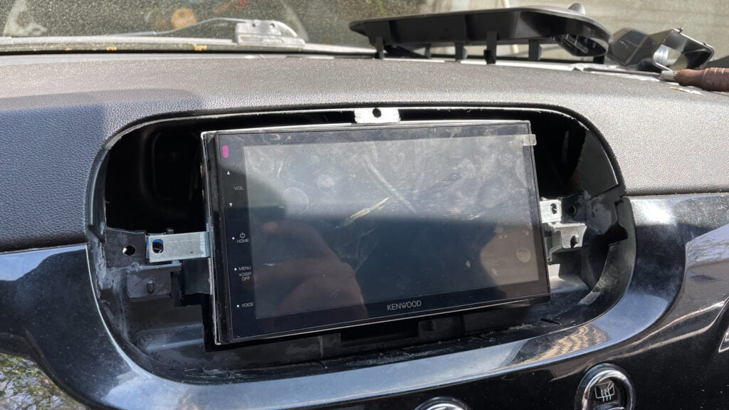 Installing a Double-DIN Screen in a Car With a Single-DIN Radio Slot Was a Big Pain but Worth It