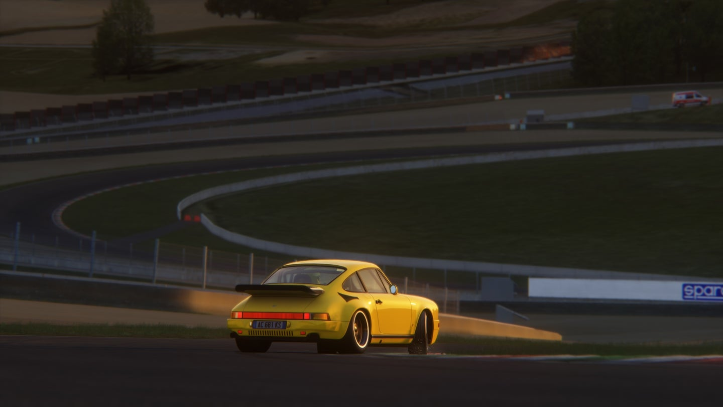This Ruf Yellowbird Looks So Good I Almost Don't Even Mind That It's Just a Video Game Character