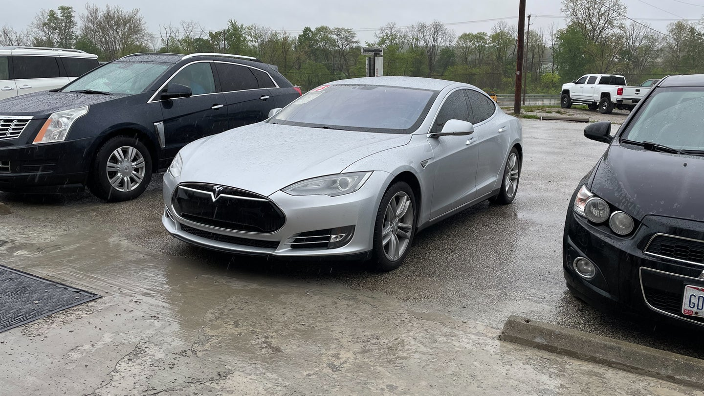 I Test Drove a $25,000 Tesla Model S From a Used Car Lot and Here's What I Found