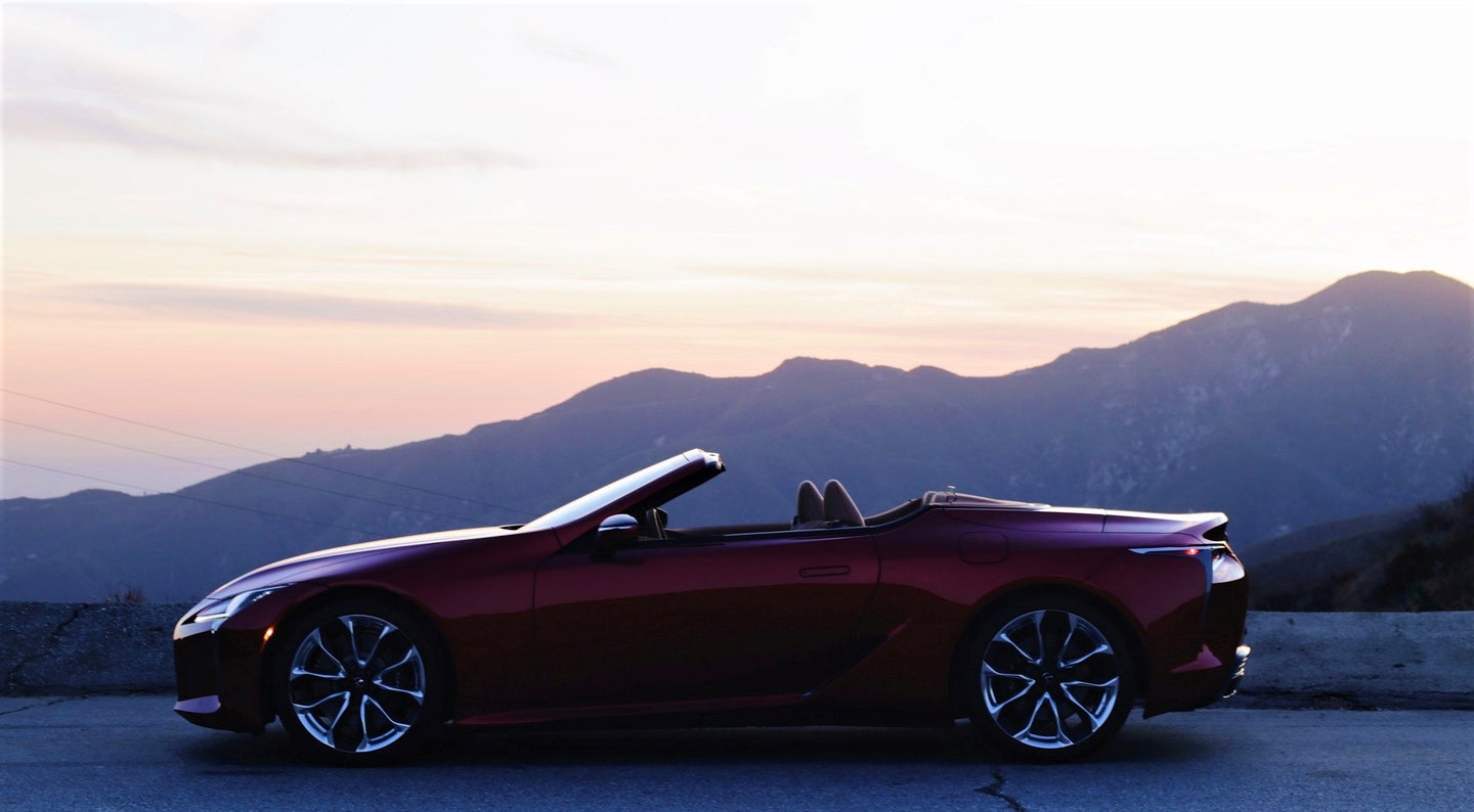 Lexus Makes One of the Most Visually Striking Cars on Sale Today