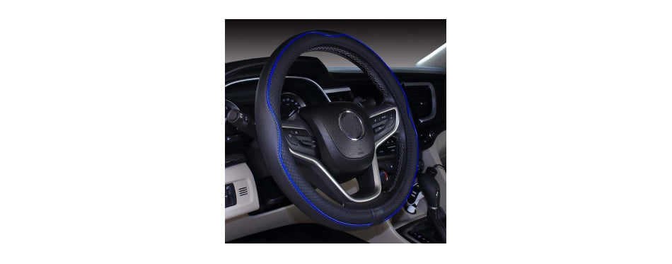 Mayco Microfiber Leather Steering Wheel Cover
