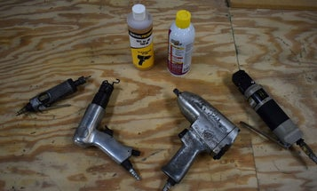 How To Oil Your Pneumatic Tools