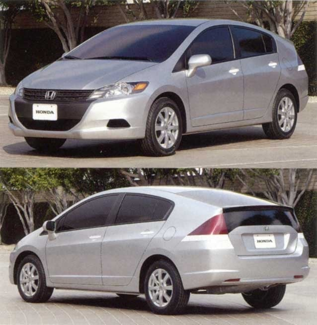 The Second-Gen Honda Insight Might Have Looked a Lot Cooler if It Skipped Late-Stage Design Tweaks