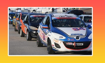 Turns Out the Mazda2 Is a Great Learning Tool for NASCAR Drivers
