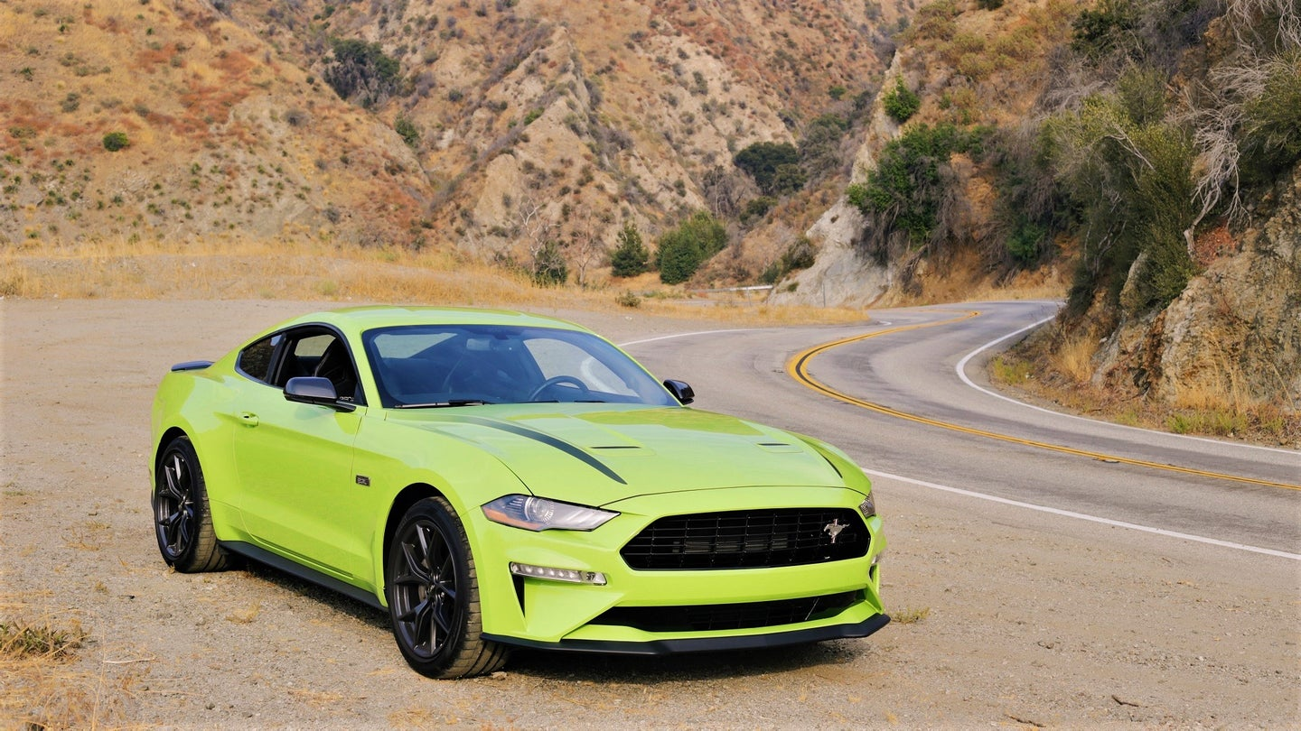 2020 Ford Mustang EcoBoost HPP with EcoBoost Handling Package
