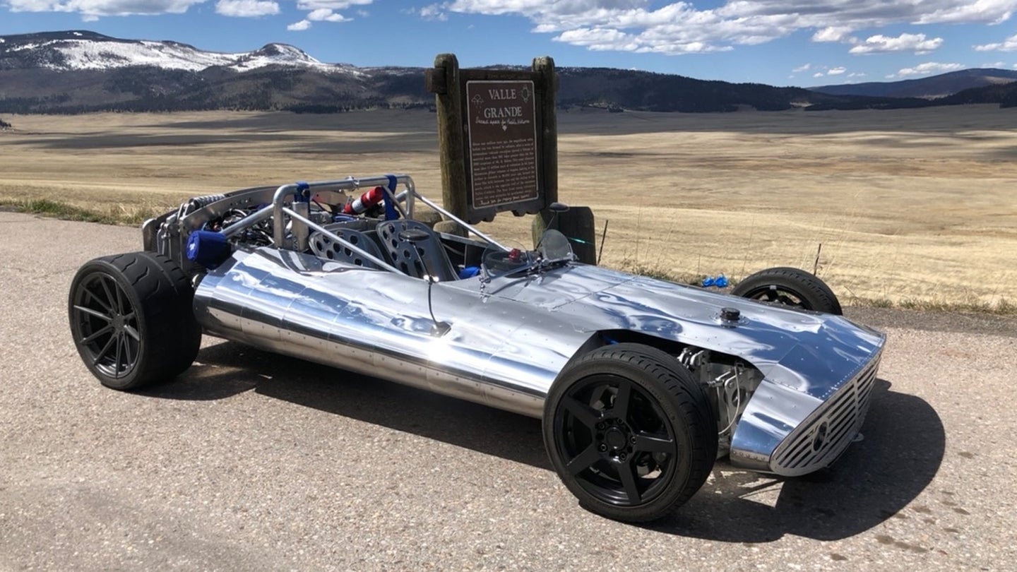 This Incredible Chrome Deathtrap Is a 70-Year-Old's 1,500-Hour Project (and Street Legal!)