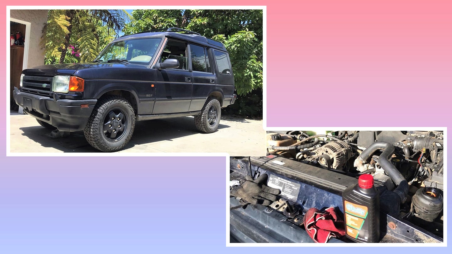 Here's What I Learned Fixing My Land Rover Discovery's Power Steering