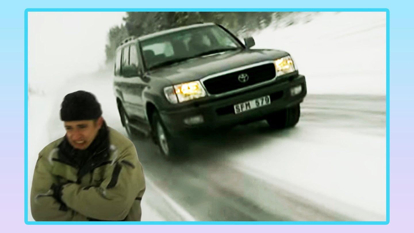 Richard Hammond Once Sang Happy Birthday to a Land Cruiser in Sweden