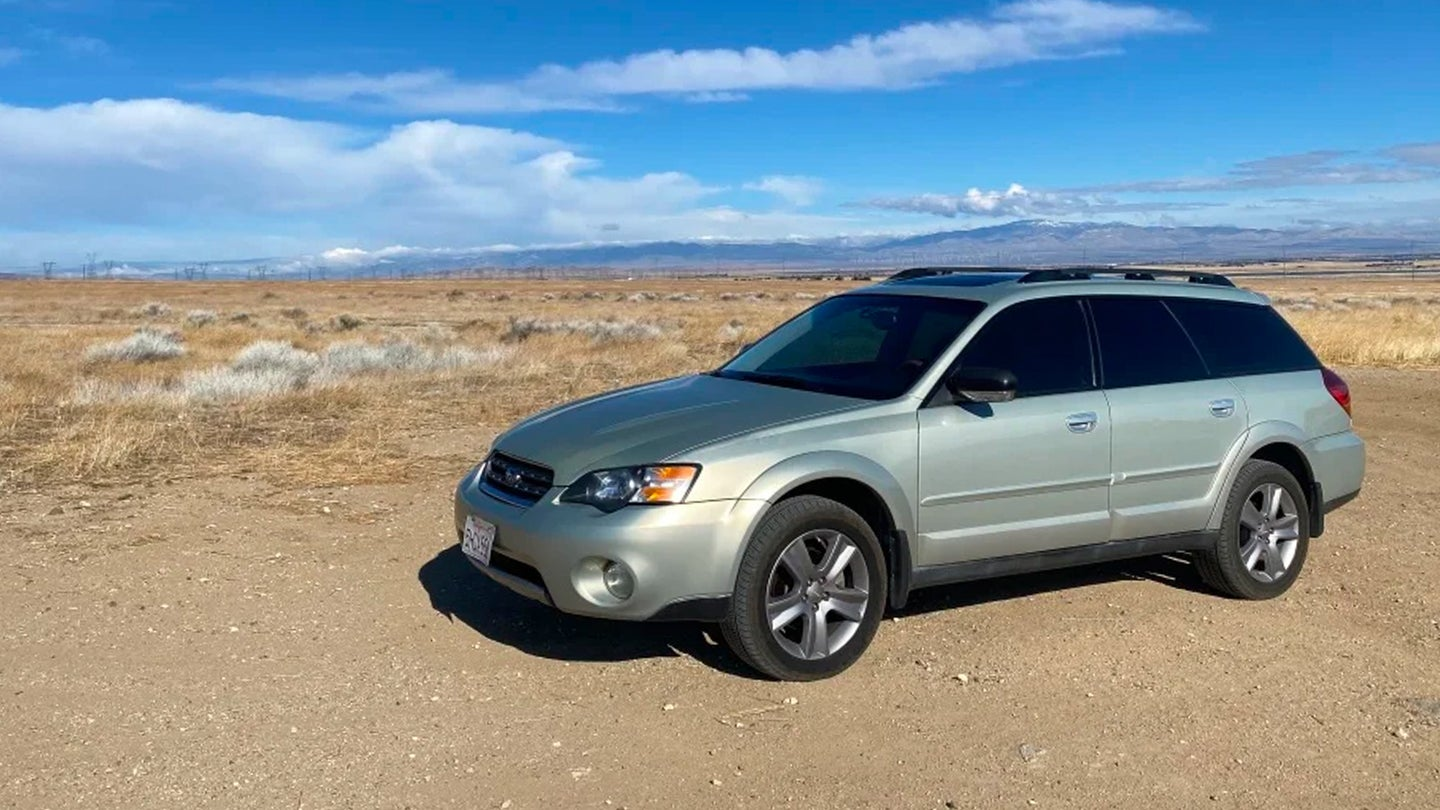 I Wanted a Truck and a Flat-Six Engine so I Got an Old Subaru Outback