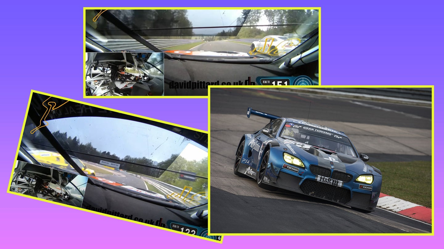 Don't Diss the M6 Until You've Seen This BMW GT3 Racer Pass 54 Cars in One Lap of the Nürburgring