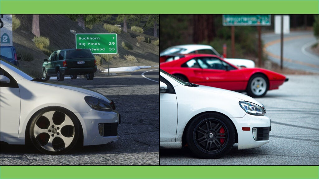 The California Canyon Roads Mod on Assetto Corsa Keeps the Game Timeless