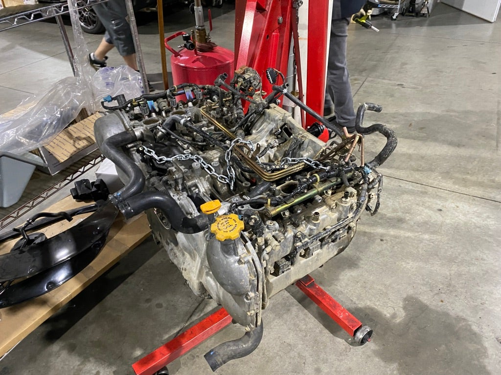 Removing My Subaru Outback's Flat-Six Engine Was Actually Easy and Fun