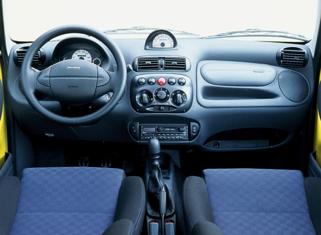 The Fiat Seicento Sporting Proved 54 Horsepower Is Plenty