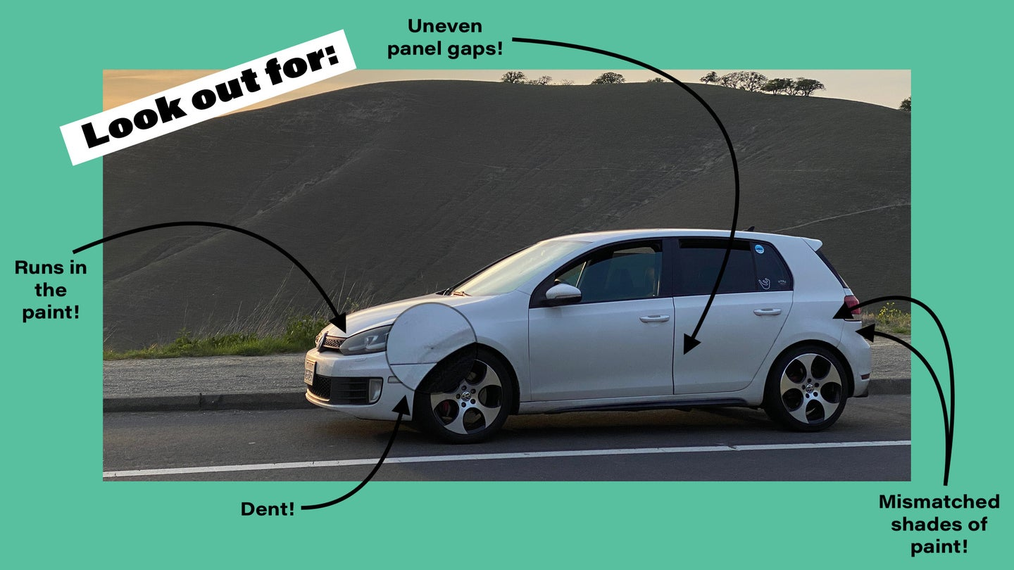 How I Spot Bad Paint and Panel Gaps When I'm Looking at a Used Car