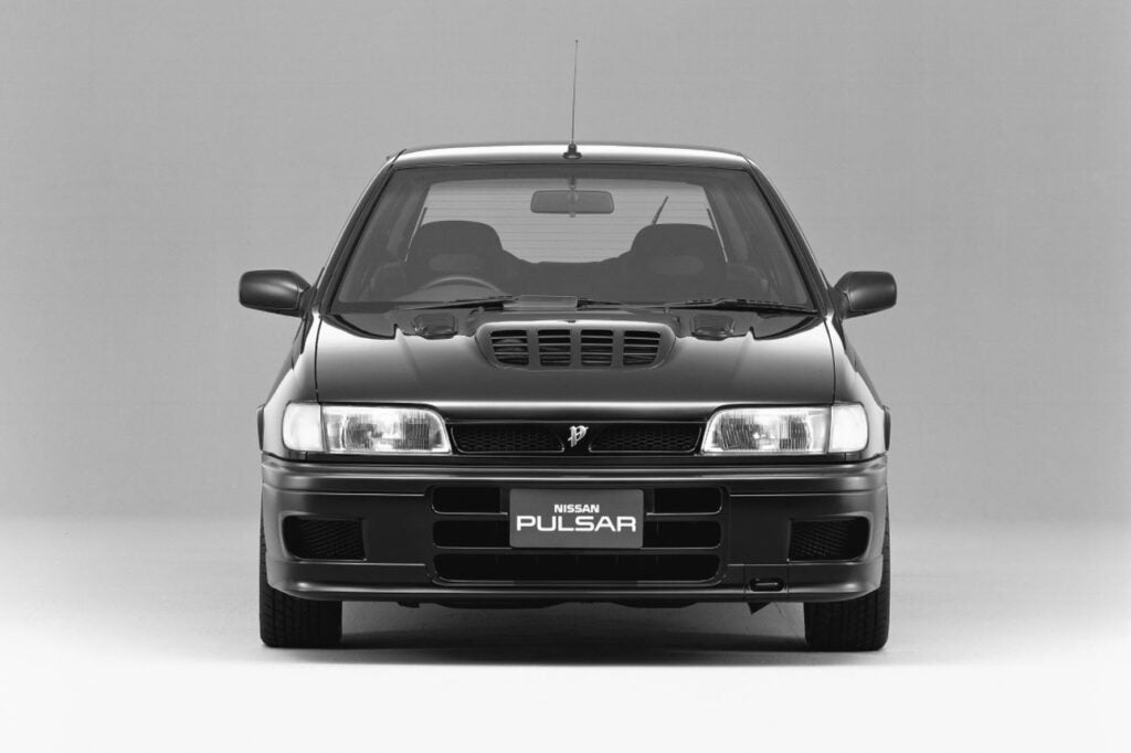 The Nissan Pulsar GTI-R's Intense Multi-Nostril Hood Scoop Isn't Even Its Coolest Feature