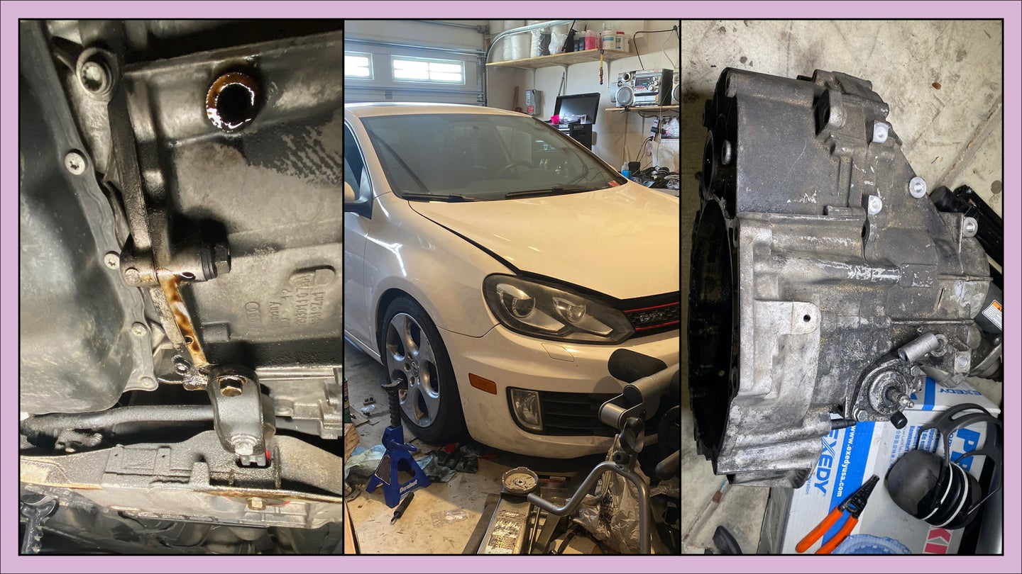 Removing My GTI's Transmission Wasn't So Bad but Ghosts of a Previous Owner's Bad Work Haunted Me