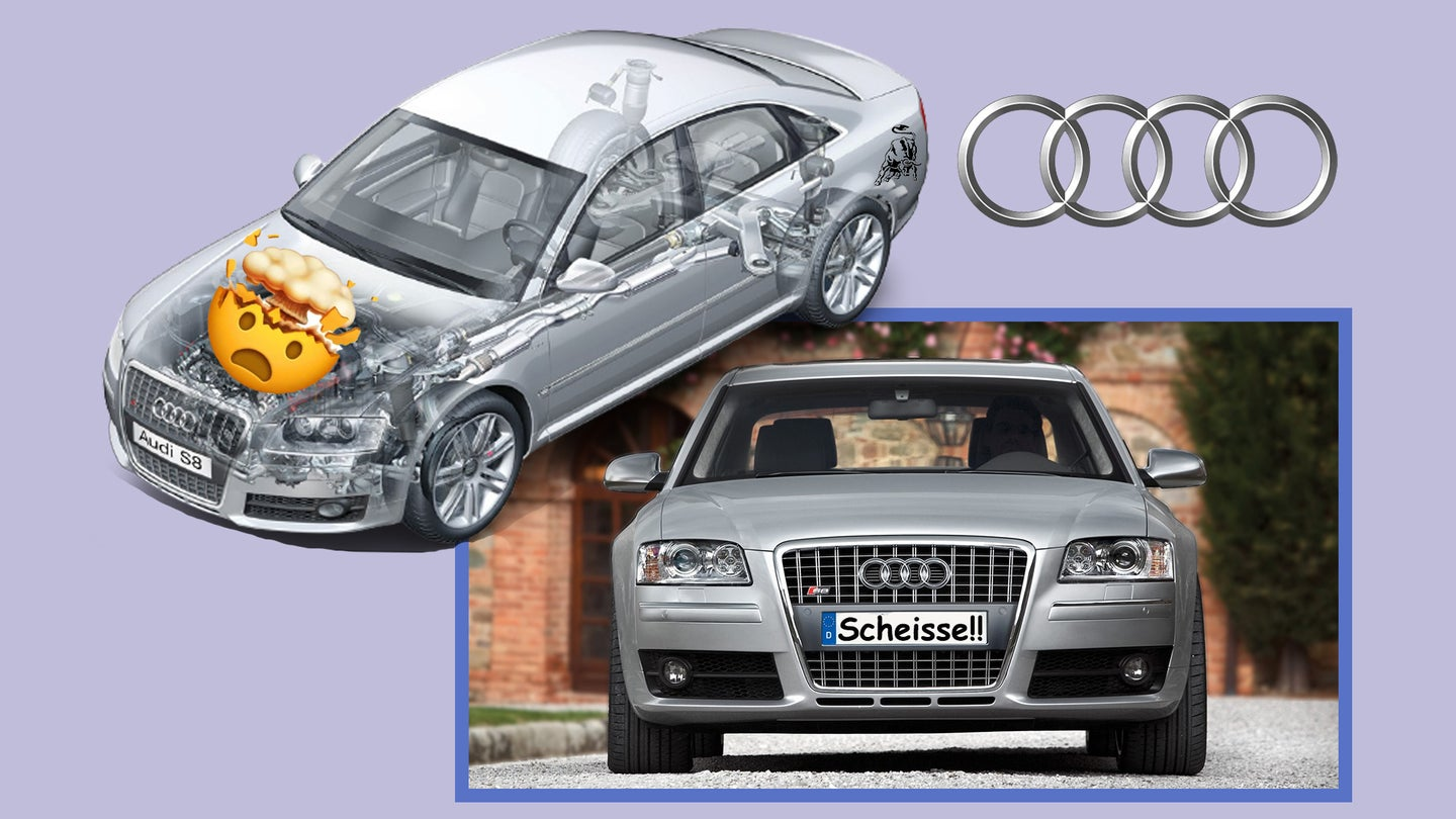 A Used Audi S8 Gets You a Lamborghini-Like V10 for Less Than $20,000 These Days