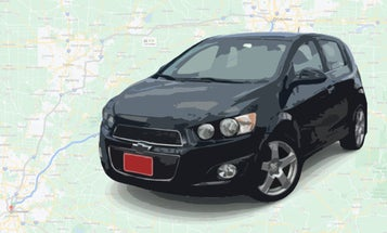 Somebody Paid $800 for an Uber Ride in My Chevy Sonic