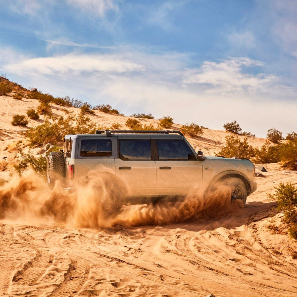 Here's Where the New Ford Bronco and Ford Everest Share Engineering
