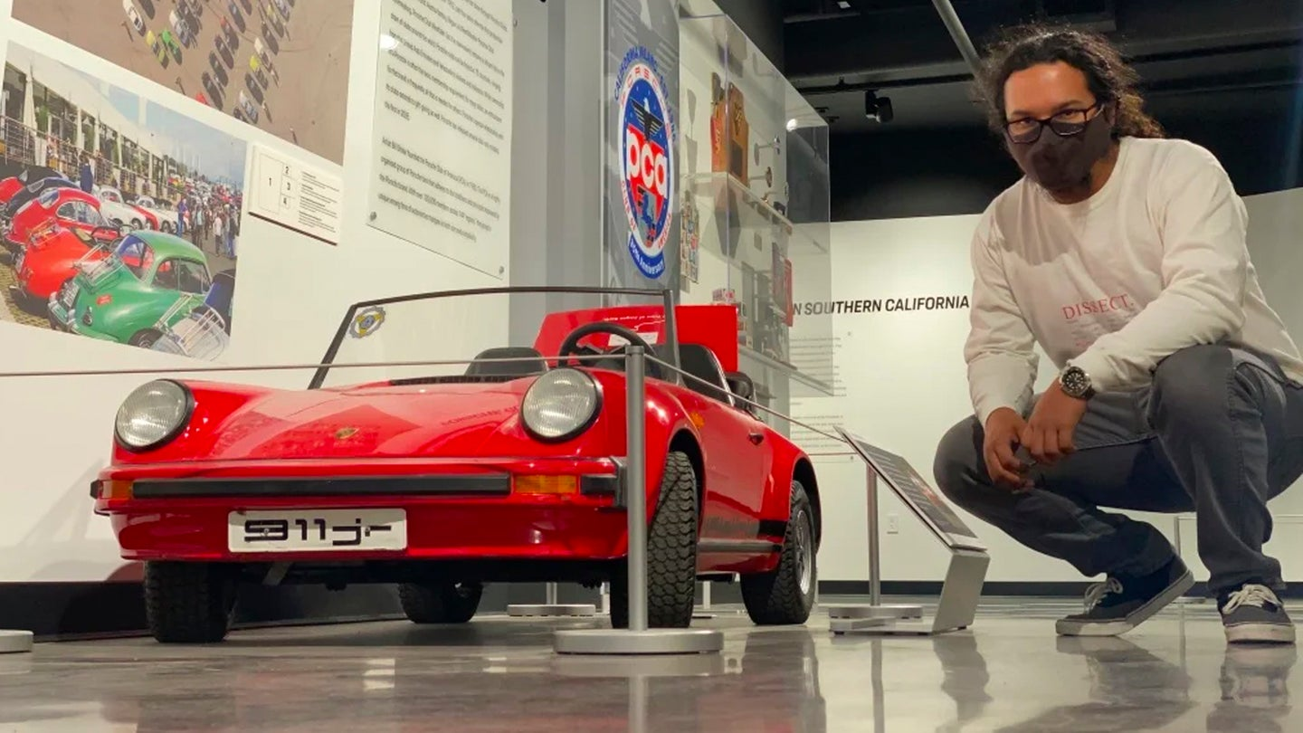 This Kid-Sized Porsche 911 Junior Has A Real Manual Transmission