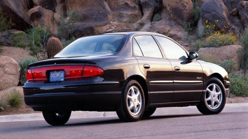 The Buick Regal's TPMS Was the Bane of My Teenage Existence