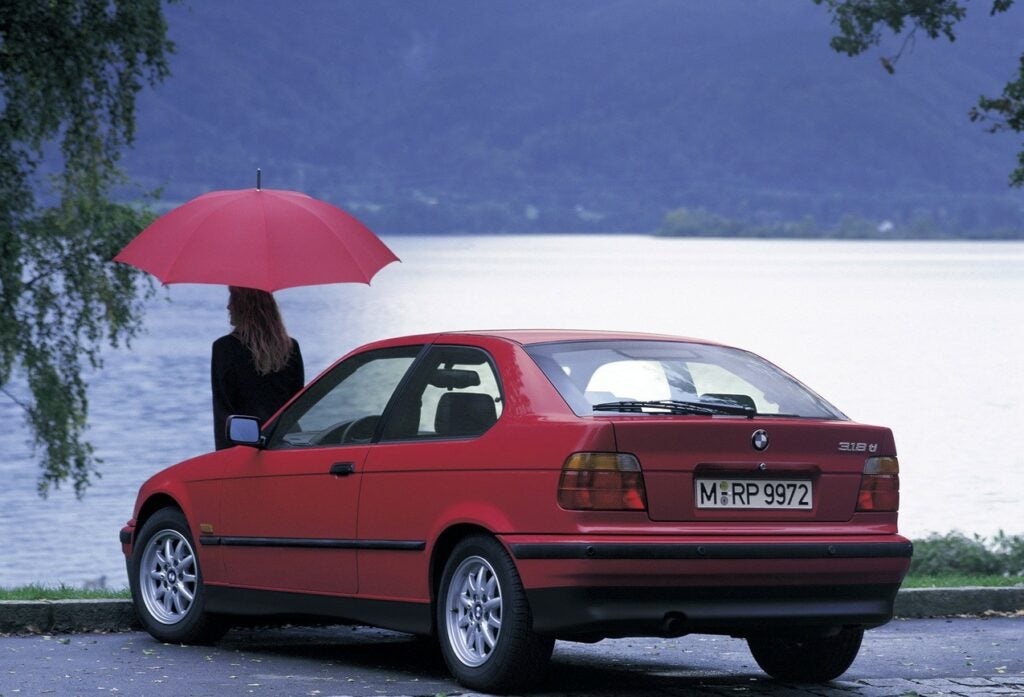 The Strange-Looking E36 BMW 318ti Is Finally Being Appreciated (and Gaining Value)