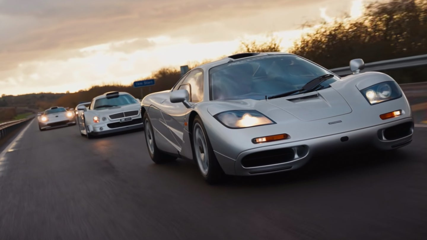 Henry Catchpole Testing a 911 GT1, CLK-GTR, and McLaren F1 Together: This Is As High-Tier As It Gets