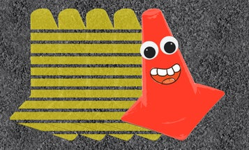 What Is 'Back-Siding A Cone' And How Does It Help Your Driving?