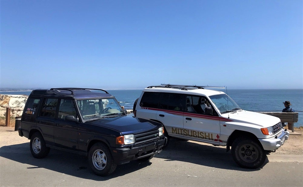 My Old Land Rover And I Survived Our First 850 Mile-Road Trip Together