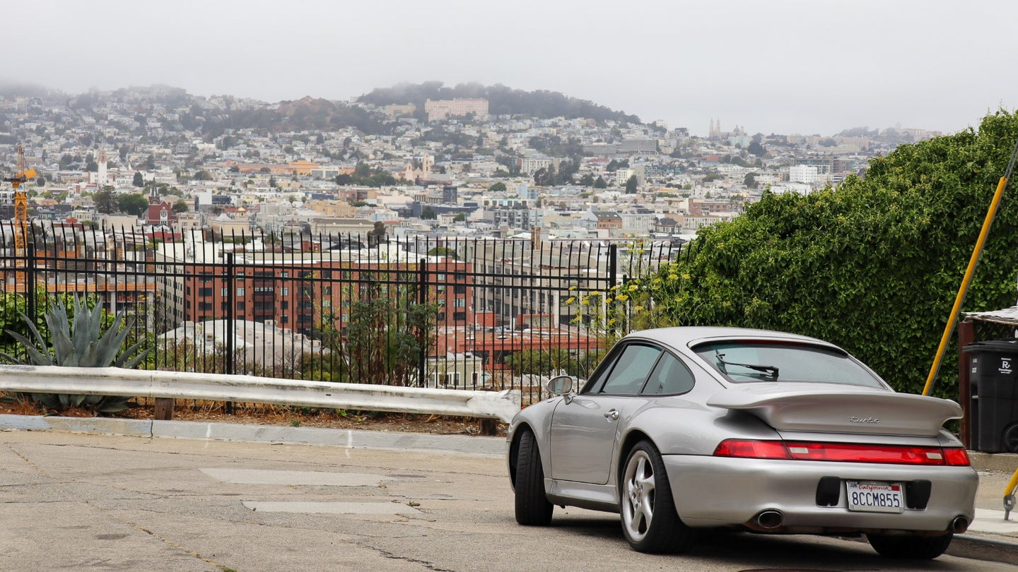 This Street-Parked 911 Turbo Is Too Wild for My Midwestern Sensibilities