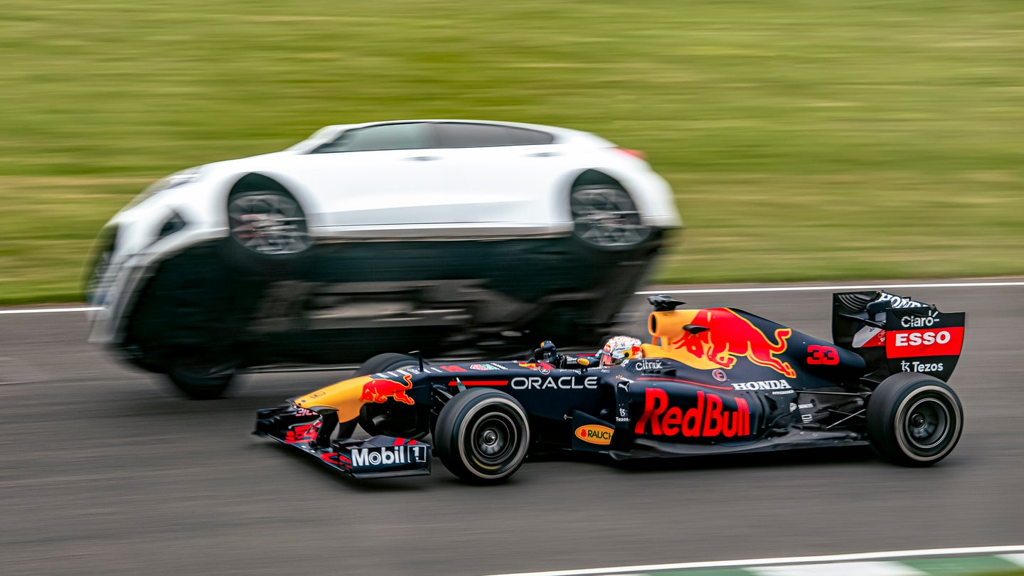 I'd Scramble This Hard To Get Out of Max Verstappen's Way, Too