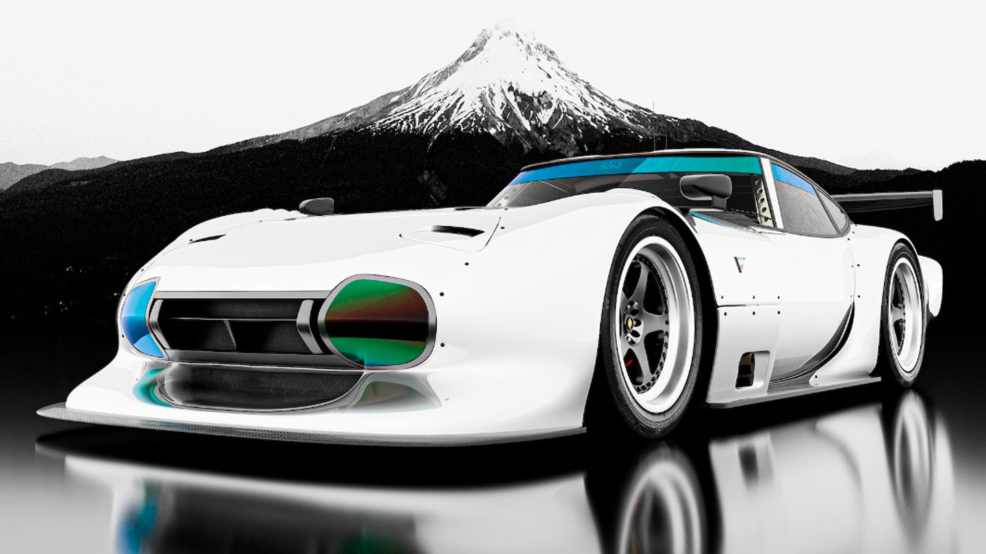 Rendering the Toyota 2000GT as a Modern Race Car Is Sacrilege but It Still Looks Cool